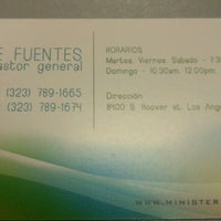 Photo taken at ELIM Central Los Angeles by Yoly R. on 11/13/2011