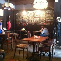 Photo taken at Магазин и большое кафе студии Артемия Лебедева by Kamila T. on 9/7/2012