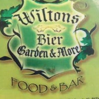 Photo taken at Wilton's Bier Garden by JeffreyFTL on 6/17/2012