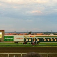 Photo taken at Canterbury Park by Aisling D. on 7/13/2012