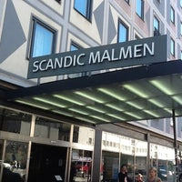Photo taken at Scandic Malmen by Peerapong P. on 6/28/2012