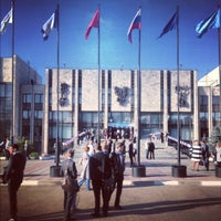 Photo taken at MGIMO by Максим Р. on 9/8/2012