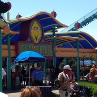 Photo taken at Sesame Place by John on 5/20/2012
