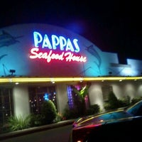 Photo taken at Pappas Seafood House by Caramels' D. on 11/27/2011