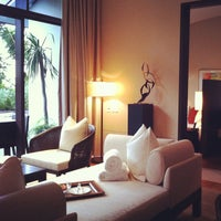 Photo taken at Capella Singapore by Daisuke T. on 12/5/2011