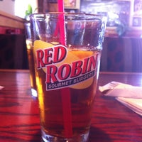 Photo taken at Red Robin Gourmet Burgers by Jim D. on 6/18/2012