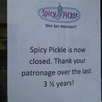 Photo taken at Spicy Pickle by Tom S. on 11/12/2011