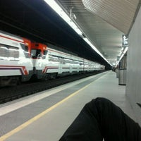 Photo taken at Passeig de Gràcia Railway Station by Marc on 12/6/2011