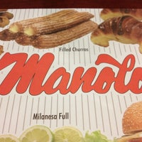 Photo taken at Manolo's by Pablo S. on 5/1/2012