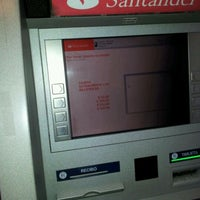 Photo taken at Cajero Automatico Santander by Jose E. on 3/13/2012