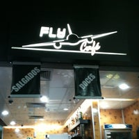 Photo taken at Fly Café by Sergio R. on 11/21/2011