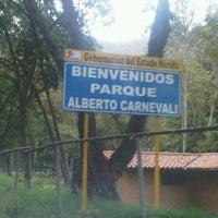 Photo taken at Parque Alberto Carnevalli by JesusSanch on 9/20/2011