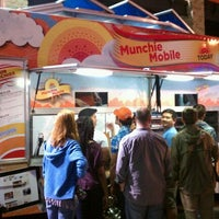 Photo taken at TODAY Munchie Mobiles at Night by Drea on 3/13/2012