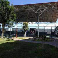 Photo taken at Parque España Torreón by Gaby on 9/5/2012