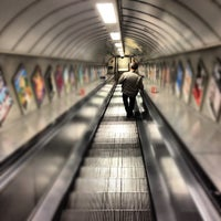 Photo taken at Old Street London Underground Station by Ardvark on 5/22/2012