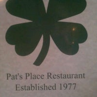 Photo taken at Pat's Place Restaurant by Adrian F. on 8/10/2012
