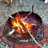 Photo taken at Bonfire by Totem Soup Podcast (. on 5/5/2012