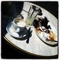 Photo taken at Landwer Café by LinkTree on 10/20/2011