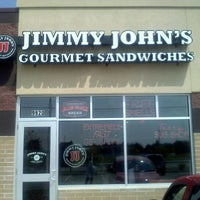 Photo taken at Jimmy John's by Stephanie O. on 7/8/2011