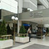 Photo taken at Hotel Estelar Miraflores by Javier B. on 12/8/2011