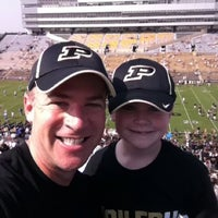 Photo taken at Ross-Ade Stadium by Lance E. on 9/3/2011