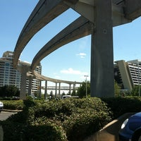 Photo taken at Disney's Contemporary Resort by Katie Z. on 3/25/2012
