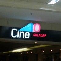 Photo taken at Cine10 Sulacap by Julien M. on 8/31/2012