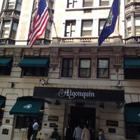Photo taken at The Algonquin Hotel Times Square, Autograph Collection by Brian D. on 7/12/2012