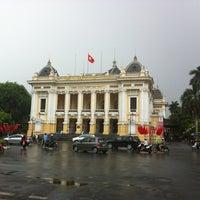 Photo taken at Nhà Hát Lớn Hà Nội (Hanoi Opera House) by Vincent N. on 5/5/2012