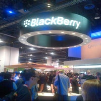Photo taken at BlackBerry #CES Booth 30326 by Ty W. on 1/11/2012