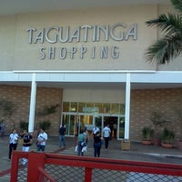 Photo taken at Taguatinga Shopping by Diego I. on 8/7/2012