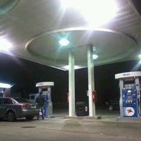 Photo taken at Mobil by Milton on 11/22/2011