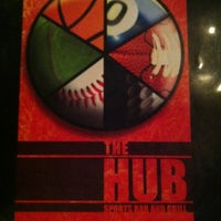 Photo taken at The Hub Sports Bar and Grill by Logan Y. on 1/18/2012