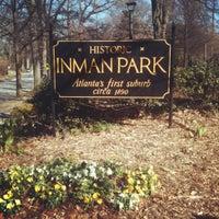 Foto tomada en Inman Park por Leigh H. el 1/15/2012