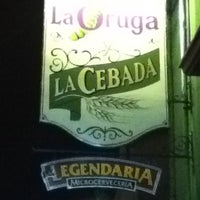 Photo taken at La Oruga y la Cebada by JESUS O. on 10/14/2011