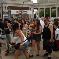 Photo taken at Cinco In The Park! by Gabriela P. on 5/5/2012