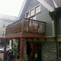 Photo taken at Carriage House Cafe by Yali S. on 9/4/2011