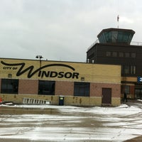 Photo taken at Windsor International Airport (YQG) by Carlos B. on 1/29/2012