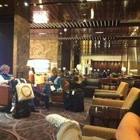 Photo taken at SIA SilverKris Lounge (Terminal 3) by Jasline G. on 5/3/2011