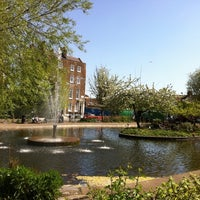Photo taken at Clapton Pond by Michal G. on 4/9/2011