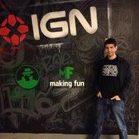 Photo taken at IGN Entertainment by Antonio G. on 3/23/2012