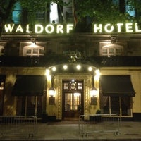 Photo taken at The Waldorf Hilton by Claudio F. on 6/6/2012