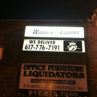 Photo taken at Woody's Liquors by Jack F. on 4/8/2011