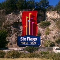 Photo taken at Six Flags Fiesta Texas by TaniO H. on 1/1/2012