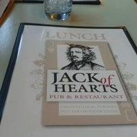 Photo taken at Jack of Hearts Pub & Restaurant by Laura H. on 1/24/2012