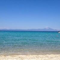 Photo taken at Armenistis Beach by Efthimis F. on 6/23/2012
