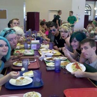 Photo taken at Sbisa Dining Center by Andrew M. on 9/11/2011