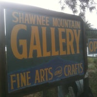 Photo taken at Shawnee Mountain Gallery by Ben D. on 8/2/2011