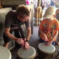 Photo taken at Vincent's African Drums by Kayla A. on 7/25/2012