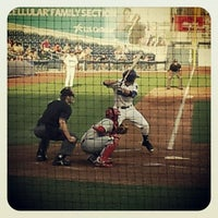 Photo taken at ONEOK Field by Christina O. on 6/8/2012
